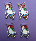 UNICORN Metal Girls Charms Pendant Party Bag filler jewellery choose quantity