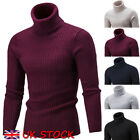 Kyпить UK Fashion Mens Knitted Polo Roll Turtle Neck Pullover Sweater Jumper Tops на еВаy.соm