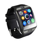 Q18 Smart Watch With Camera Facebook Whatsapp Twitter Sync SMS Smartwatch