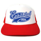 Established 1989 Hat - Funny Retro Trucker Cap - Birthday / Christmas Gift Idea