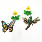 Electric Rotating Flying Bird Butterfly Cat Tease Funny Kitten Toy Pet Supply