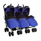 Kids Kargo Triple pushchair Triplets Buggy 3 seats 3 babies toddlers 0-3years  <br/> Busy Mums Nurseries Childminders easy Umbrella fold