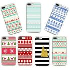 New Rubber Slim Soft TPU Silicone Christmas Phone Case Cover For Samsung S8 S7