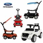 Licensed Electric Ford Ranger 6v Battery 2 in 1 Kids Ride On Car & Push Along