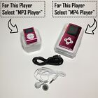 New MP3 Player Supports 32GB LCD Screen Music Media With Clip MP4