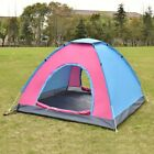 Mix Color Waterproof 2-3Prople Camping Tent Outdoor Family Hiking Beach Spring