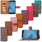For SAMSUNG J530 European version2017 Luxury Flip Cover Wallet Card Leather Case
