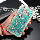 For Huawei P8 P9 P10 Lite Plus Cover Soft TPU Liquid Bling Glitter Silicone Case