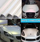 Best Wrap - Metallic Satin Matte Pearl White Vinyl Chameleon Car Film Sticker