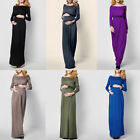 Pregnant Women Long Maxi Party Dress Photo Shoot Maternity Weeding Dresses Gown