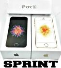 Apple iPhone SE 16GB 32GB 64GB (SPRINT/BOOST) A9 12MP Rose Gold Space Gray (NEW)