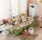 Happy Holiday Canvas SlipCover Sofa Cover oUSr Protector for 1 2 3 4 seater O