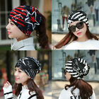 Hot Red Women Winter Korean Warm Cap Baggy Cotton Hat Scarf Collor