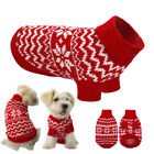 Small Dog Clothes Pet Winter Sweater Knitwear Puppy Clothing Warm CHRISTMAS Coat
