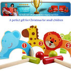 Animal Two balls Wooden mini golf set Christmas toy gift For small children with