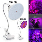 LED Plant Grow Light Lamp Flexible Desk Holder Clip Lamp Indoor greenhouse Hydro