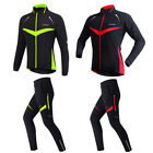 1Set Unisex Cycling Fleece Coat Outdoor Sports Jacket Pants For Hiking Camping