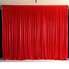 Wedding Party Backdrop Red Background Decor Curtain Drapes Studio Draping