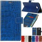 Card Holder PU Leather+TPU Flip Wallet Case Cover Stand For Various Phone