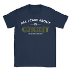 AICAI Cricket Mens T-Shirt Funny Joke Gift For Dad Uncle Husband Sports Top