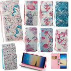 Pattern Strap Leather Wallet Case Cover For iPhone X/6s/7/8 8 Plus/Samsung Note8