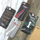 YEEZY Luminous Protection Soft Phone Case Cover For iPhone 8 7 Plus 6 6S Plus