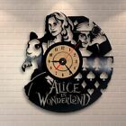 Alice in Wonderland Vinyl Record Wall Clock