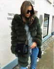 Genuine Leather Fur Jacket With Hood Fashion Warm Thick Lady Long Natural Coat