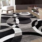 RUGSHOP CONTEMPORARY ABSTRACT MODERN CIRCLES SOFT AREA RUGS фото