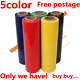 red blue black yellow wrapping film 50cmX400m Stretch film 25um packaging film