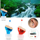 Mini Digital Hearing Aid CIC Invisible Small Sound Voice Amplifier Enhancer