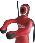 FNine MMA Martial Arts Dummy with straps, Standing Dummy Open Hands (Unfilled)