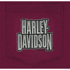 Harley-Davidson Men'sToned H-D Short Sleeve Pocket Tee R002455 $35.0 USD