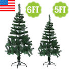 5'/6' Feet Tall Christmas Tree With Stand Holiday Season Indoor Outdoor Tabletop