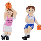 MAXORA Personalized Basketball Girl Basketball  Boy Ornament With Gift Box