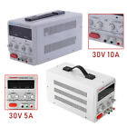 30V 5A/10A Adjustable DC Power Supply Dual Digital Variable FOR Lab Test Study