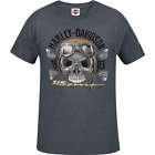 Harley-Davidson Men's 115th Anniversary Collection Skull Anniversary Tee R00256 $35.0 USD