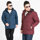 Men's Winter Fattened Down Jacket Stand Collar Loose Plus Thicken Clothes XL-8XL