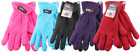 Thermaxxx Winter Womens Ladies Fleece Ski Gloves Warm One Size Fits Most