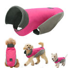 Waterproof Dog Coats Winter Reflective Pet Clothes for Small Large Dogs Hot Pink