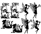 Fairy Die cut Embellishment Mixed or One-Kind Jar lanterns Crafts Cards #07