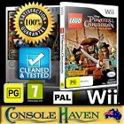 (Wii Game) LEGO Pirates Of The Caribbean / Caribean (PG) PAL, Guaranteed