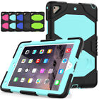 Shockproof Hybrid Rubber Stand Case Cover For Ipad Mini /air2/pro 9.7/new Ipad