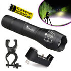 12000LM XM-L T6 5Modes Rechargeable LED Zoom Flashlight Torch 18650 Battery