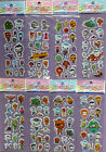 OCTONAUTS PUFFY STICKER SHEETS Childrens Party Bag filler choose quantity