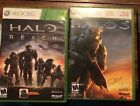 Halo 3 & Reach Dual Pack Combo Xbox 360 Games  2 Game Lot Complete In Case!