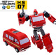 New Soldiers HS07 Iron Tin mini Transformers TOY G1 Ironhide New in stock MISB