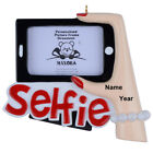 MAXORA Selfie Picture Frame Personalized Ornament Christmas Gift Photo Frame