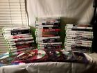 XBOX 360 GAMES LOT /ACTION/ADVENTURE/SPORTS /TESTED