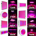 120W LED Plant Grow Light Bulb Blue Red Panel For Indoor Flowers Seed Hydro Weed